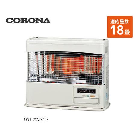 コロナ 寒冷地用大型ストーブ 床暖FF [UH-F7018PR(W)] 18畳 暖房器具 ヒーター ストーブ CORONA