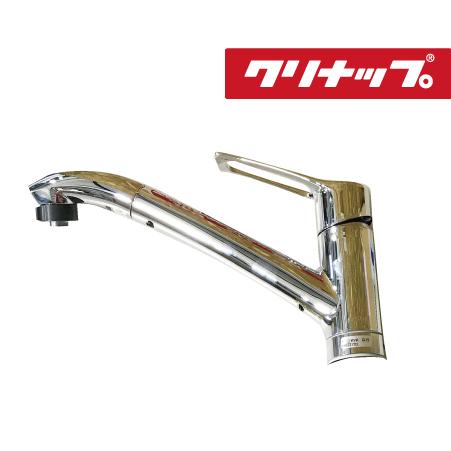 送料無料 クリナップ KVK製 シングルレバー式シャワー付混合栓 [ZZKM5031TCLE] KM5031T 機能同等品 あす楽