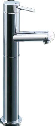 【LIXIL】【リクシル】洗面器・手洗器用水栓 カウンター取付専用タイプシングルレバー単水栓(排水栓なし) eモダン[LF-E02H]【INAX】【イナックス】