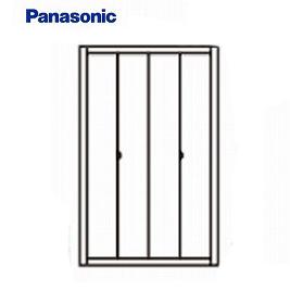 パナソニック 収納用建具 折れ戸 [XKRE1PAK3RNN82**] PA型 0.75間(幅1190mm) 固定枠 ノン下レール3方枠[K3] 送料別途お見積り 送料無料ではありません
