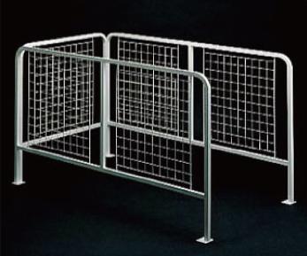 ノダ 天井手摺り [THP-204] 転落防止するためのフェンス 天井裏の開口部周囲に取付 NODA