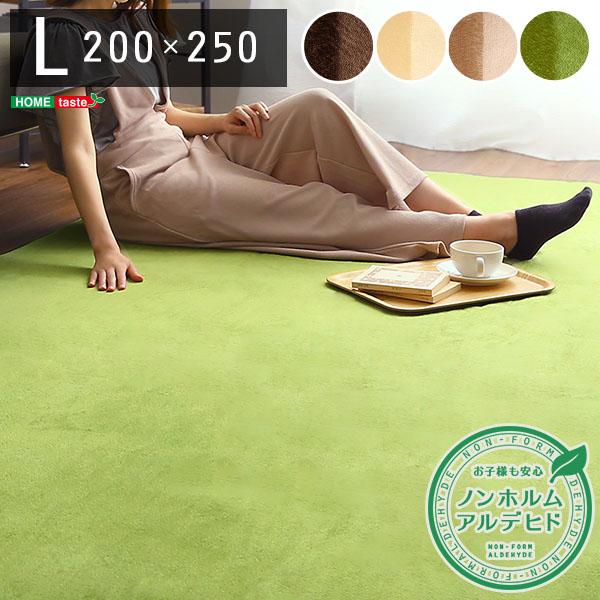 高密度フランネルマイクロファイバー・ラグマットLサイズ(200×250cm)洗えるラグマット|ナルトレア 支払方法代引き・後払い不可