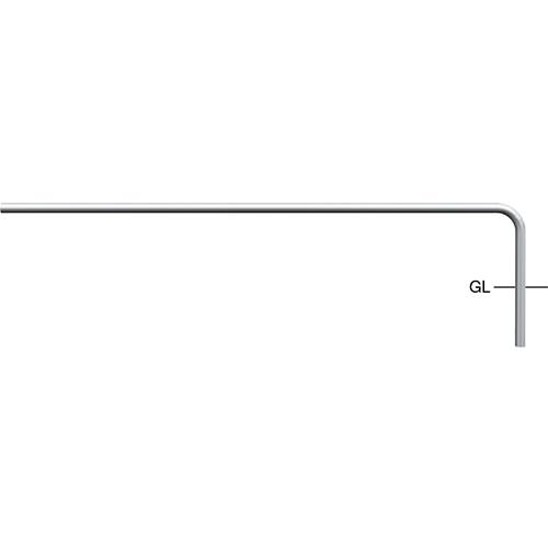 メーカー直送 サンポール ジョイント自転車アーチ エンド支柱 WP2400用 φ42.7(t2.0)×H350mm カラー:ステンレス [AA-42UJ24-E]