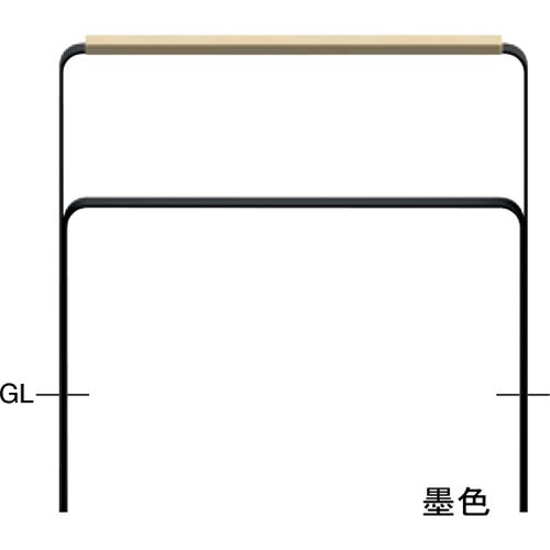 メーカー直送 サンポール 和モダン フラットバーアーチ W1000×H817mm カラー:鉄色 [FNA-7U10W-800-135]