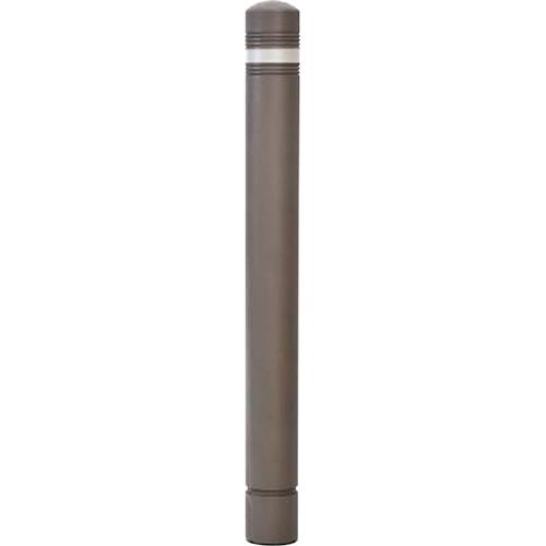 【法人様限定】 メーカー直送 サンポール リサイクルボラード ラバーポスト φ80×H804mm カラー:ダークブラウン [RB-110(SC)]