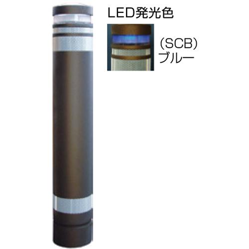 【法人様限定】 メーカー直送 サンポール リサイクルボラード φ130×H826mm カラー:ダークブラウン [RB-133U-SOL(SCB)]