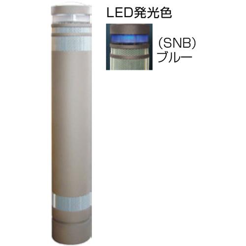 【法人様限定】 メーカー直送 サンポール リサイクルボラード φ130×H826mm カラー:グレーベージュ [RB-133U-SOL(SNB)]