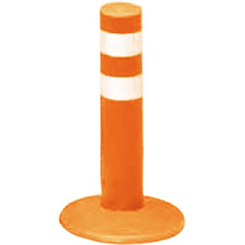 メーカー直送 サンポール ガードコーン φ60,台座径φ175×H300mm カラー:オレンジ [RBMH-30(R)]