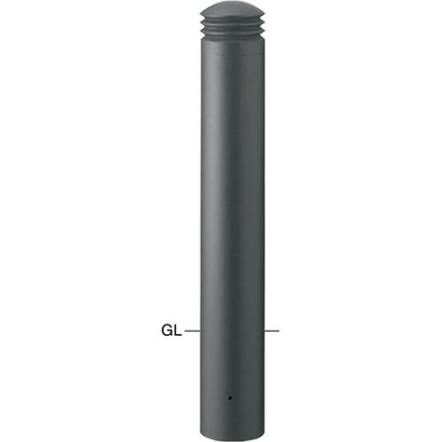 【初回限定お試し価格】 サンポール φ152.5(t3.0)×H750mm カラー:ダークグレー ボラード メーカー直送 [V-352U]:e-キッチンマテリアル-その他