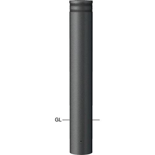メーカー直送 サンポール ボラード  [V-366U] φ165(t4.0)×H850mm SUNPOLE