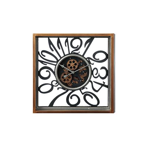 メーカー直送 東洋石創 The GROBAL MARKET(グローバルマーケット) Gear Clock [50301] 海外雑貨 輸入雑貨 W530×H530×D85 ○