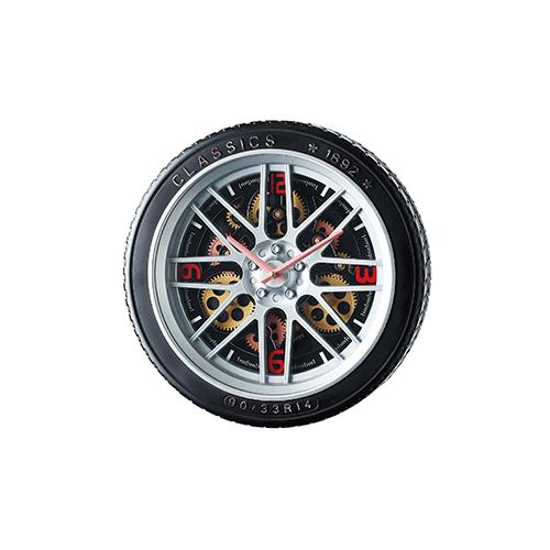 メーカー直送 東洋石創 The GROBAL MARKET(グローバルマーケット) Gear Clock [50306] 海外雑貨 輸入雑貨 W400×H400×D90 ○