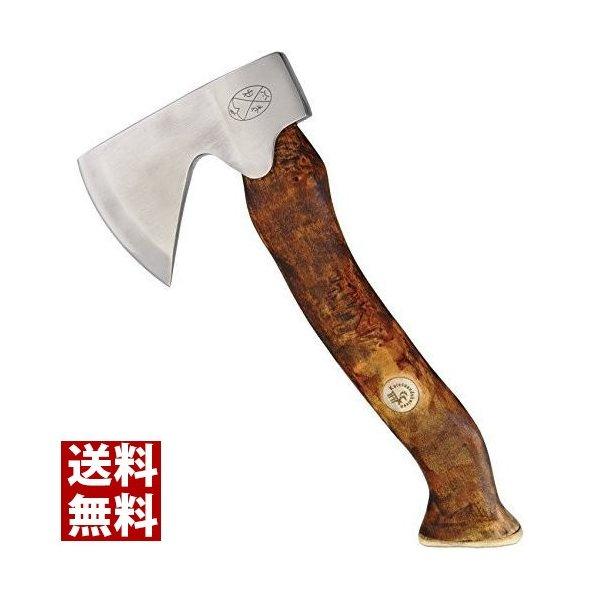 カレスアンドニーベン Karesuando Kniven ストエラ アックス ブラウン ブッシュクラフトナイフ アウトドアナイフ サバイバルナイフ