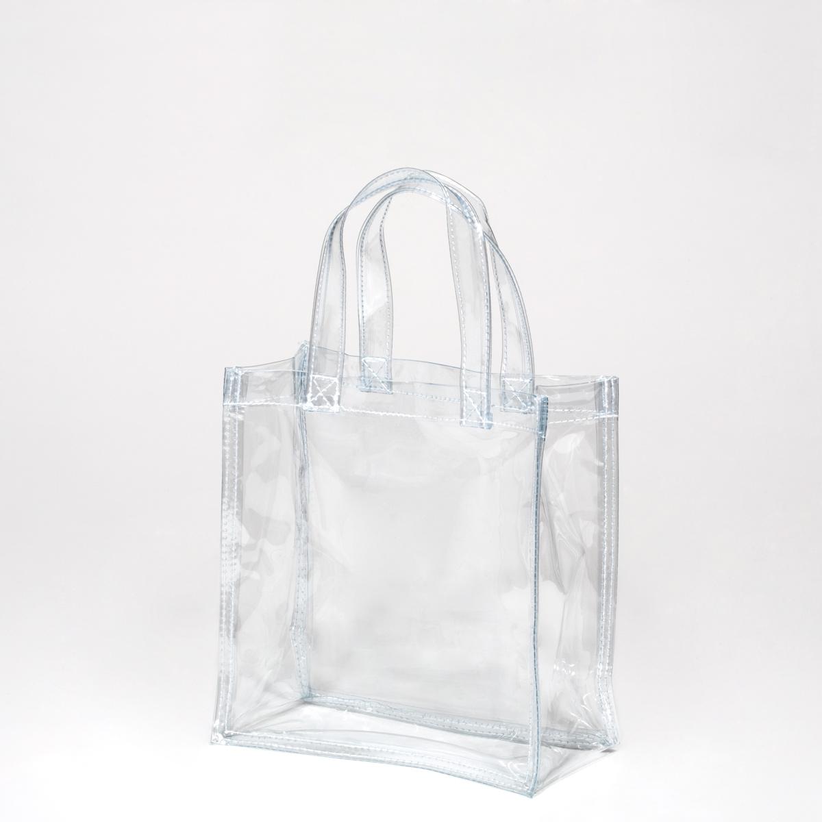 E Komono Plastic Bag Transparent Clear Plastic Bag