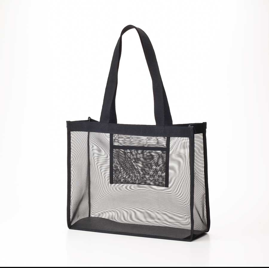 Mesh Bag Vinyl Transpa Clear Plastic Transparence Pvc Shoulder Mb 3528bk