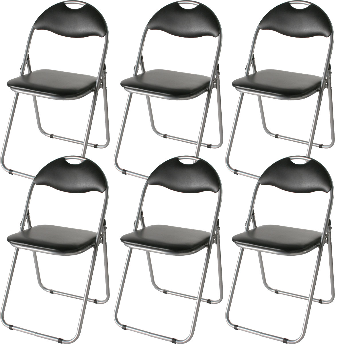 【18脚/1セット】折りたたみ椅子 軽量 持ち運び ミーティングチェア パイプ椅子 折り畳み椅子 折り畳み椅子 パイプイス 一脚あたり1,167円(税抜)スチール製 幅45 奥43 高78cm IK-0102-18 21,006円