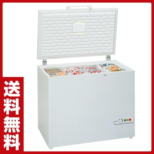 スーパーフロスト(SUPERFROST) ノンフロン冷凍庫 チェストフリーザー SF290R ホワイト 上開き 家電 冷凍食品 冷凍保存 大型 【送料無料】