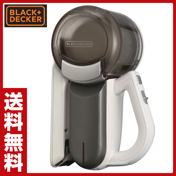ブラックアンドデッカー(BLACK&DECKER) 充電式 コードレス ハンディクリーナー 掃除機 【ピボット(pivot)3】 PHV1200T チタン サイクロンクリーナー コードレスクリーナー おしゃれ 【送料無料】