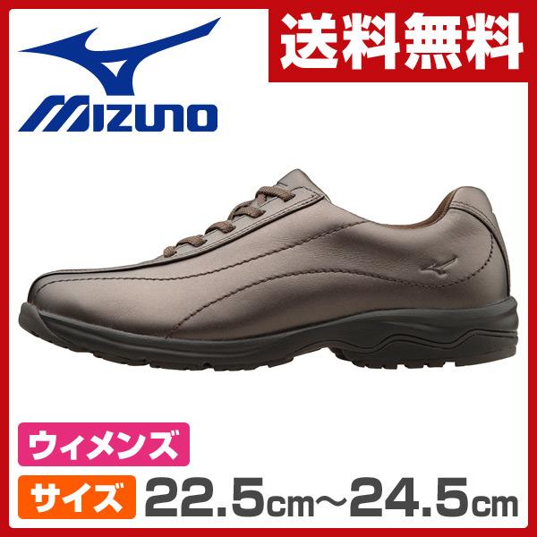 ミズノ(MIZUNO) ウォーキングシューズ レディースサイズ22.5cm-24.5cm LD40 ブロンズ ウィメンズ 女性 シューズ 靴 スニーカー 軽い LD-40 【送料無料】