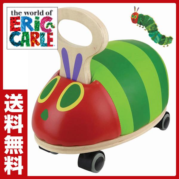 日本育児 EricCarle(エリックカール) はらぺこあおむし GOGOライド(耐荷重25kg)(12か月-36か月) 6050028001 乗用玩具 足けり 押し車 足けり乗用 おもちゃ 子供用 乗り物 クリスマス 【送料無料】