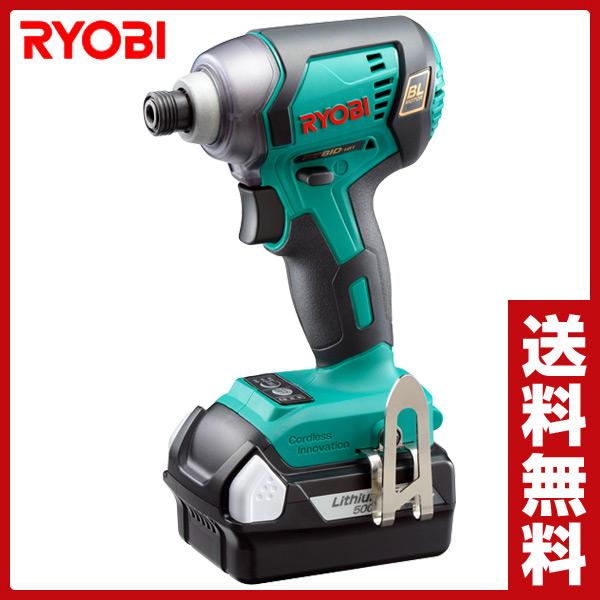 リョービ(RYOBI) 18V 充電式インパクトドライバー BID-181L5 インパクトドライバー 電動工具 電動ドライバー 充電ドライバー 【送料無料】