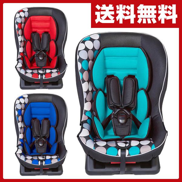 日本育児 チャイルドシート バンビーノ(Bambino) ドット(対象年齢 新生児から4歳頃まで) こども キッズ チャイルドシート 車 ジュニアシート 【送料無料】