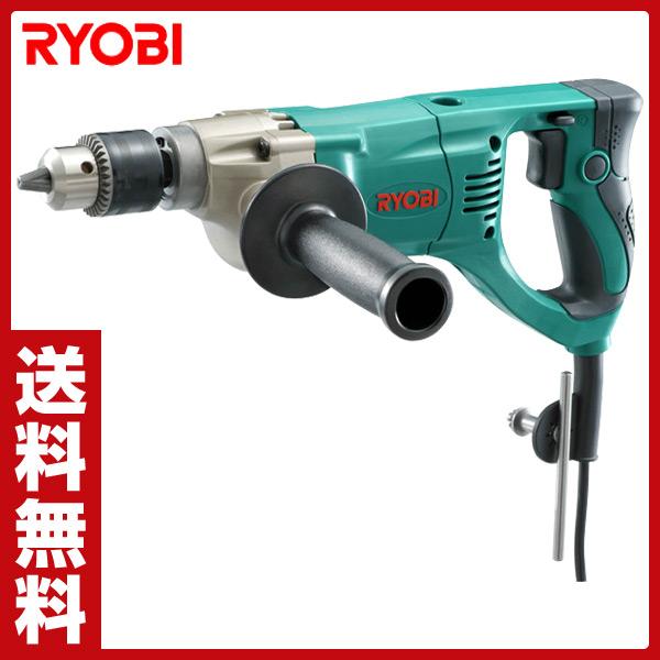 リョービ(RYOBI) ドリル 鉄工13mm 木工30mm D-1300VR 電気ドリル 電動ドリル 油圧工具 電動工具 作業工具 【送料無料】