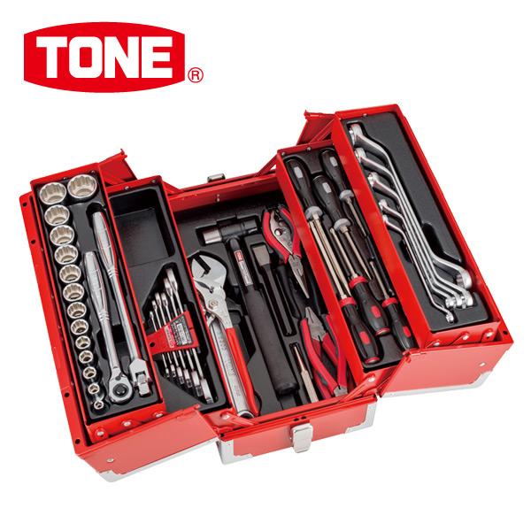 TONE ツールセット TSS43316 レッド 工具箱 工具セット メカニック&メンテナンス用 【送料無料】