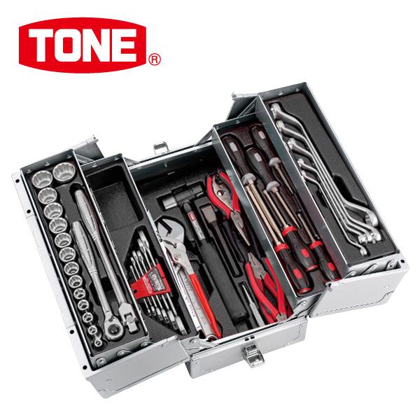 TONE ツールセット TSS43316SV シルバー 工具箱 工具セット メカニック&メンテナンス用 【送料無料】