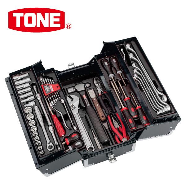 TONE ツールセット TSA33316BK ブラック 工具箱 工具セット メカニック&メンテナンス用 【送料無料】