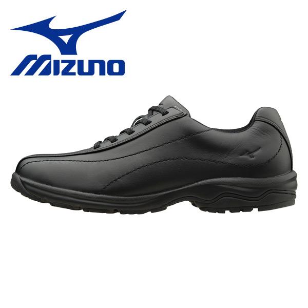 ウォーキングシューズ レディースサイズ22.5cm-24.5cm LD40 ブラック ウィメンズ 女性 シューズ 靴 スニーカー 軽い LD-40 ミズノ(MIZUNO) 【送料無料】