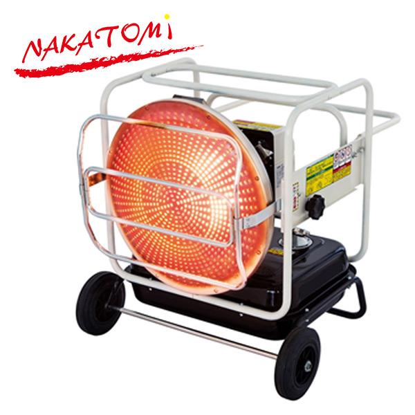 遠赤外線ヒーター KH-115D 電気ストーブ 電気ヒーター 赤外線ヒーター 暖房器具 おしゃれ 大型 ナカトミ(NAKATOMI) 【送料無料】