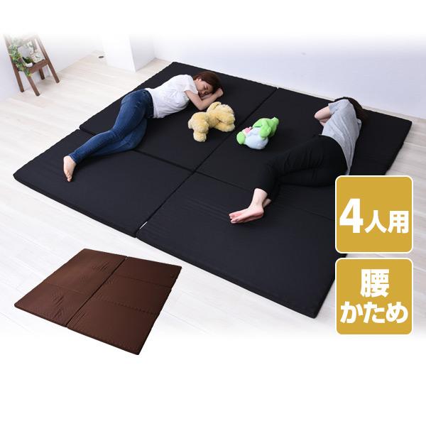マットレス 4人用 幅240 (セミダブル 2枚組) 家族マットレス 日本製 MK5-FML 240 バランス マットレス ベッドマット ファミリーサイズ 家族 大型 ウレタン アキレス 【送料無料】
