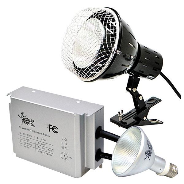 SOLAR RAPTOR HIDランプ 50W ソーラーラプター ソーラーラプターHIDランプ 50W用安定器 クランプランプ ゼンスイ 【送料無料】
