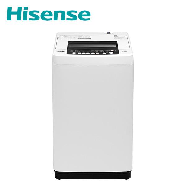 全自動洗濯機 洗濯5.5kg HW-T55C ホワイト 洗濯機 5.5kg 洗濯 脱水 ステンレス槽 槽洗浄 槽乾燥 予約タイマー 一人暮らし 新生活 ハイセンスジャパン(Hisense) 【送料無料】