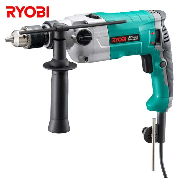 振動ドリル PD-201VR 電気ドリル 電動ドリル 電気振動ドリル 油圧工具 電動工具 リョービ(RYOBI) 【送料無料】