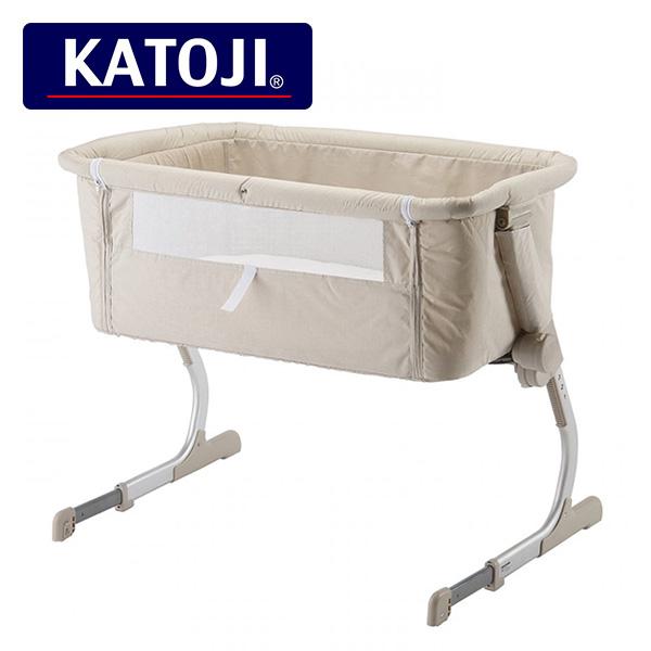 カトージ(KATOJI) ベッドサイドベッド Soine(ソイネ)(新生児から6か月まで) 63612 正規品 ベビー 赤ちゃん 添い寝 ベビーベッド ベッド 赤ちゃん用ベッド 寝具 マット コンパクト 持ち運び 【送料無料】