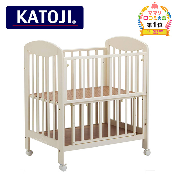 ミニ立ちベッド プチバニラ 2356 正規品 ベビー 赤ちゃん ベッド 収納棚 ミニ 小さい コンパクト カトージ(KATOJI) 【送料無料】