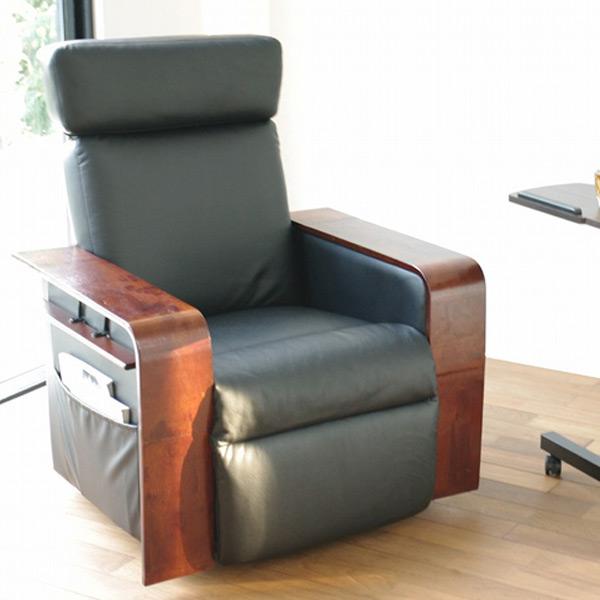デラックスパーソナルチェア RS-2011 ブラック パーソナルチェア リラックスチェア チェアー 椅子 1人掛け ミヤタケ(宮武製作所) 【送料無料】