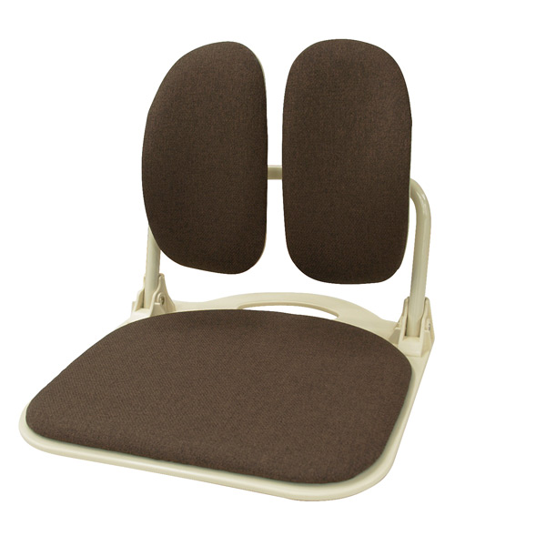 DUOREST(デュオレスト) DRシリーズ 座椅子 DR-920T NBN ブラウンフロアチェア 座いす 【送料無料】