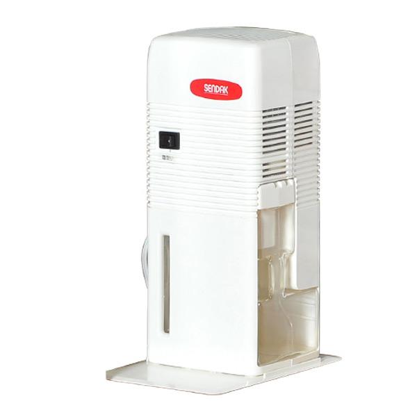 除湿機 電子吸湿器 QS-101 ホワイト コンパクト 除湿器 除湿乾燥機 押入れ 押し入れ クローゼット 下駄箱 センタック(SENDAK) 【送料無料】