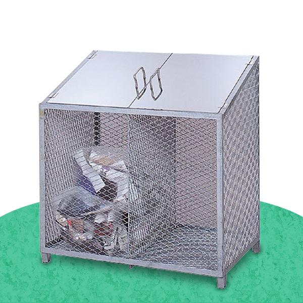 サンカ(SANKA) ダストBOX-S CS-01 ゴミ収集 スチール カラス対策 【送料無料】