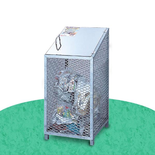 ダストBOX-S CS-03 ゴミ収集 スチール カラス対策 サンカ(SANKA) 【送料無料】