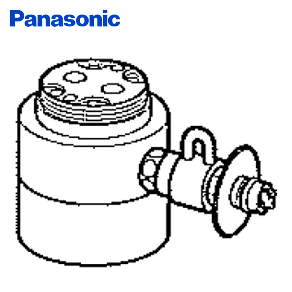 【GWも出荷中】パナソニック(Panasonic) 食器洗い乾燥機用分岐栓 CB-SKE6 ナショナル National 水栓