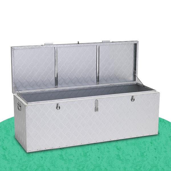 万能アルミボックス 大 (242L) BXA135 収納庫 ツールケース ツールボックス アルインコ ALINCO【送料無料】