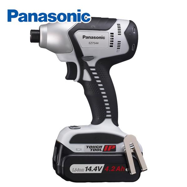 14.4V充電インパクトドライバー4.2Ah EZ7544LS2S-B 電動ドライバー 電動ドリル 充電式ドライバー パナソニック(Panasonic) 【送料無料】