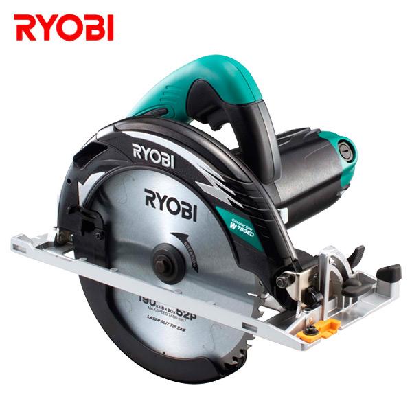 電子丸ノコ W-763ED 切断機 小型切断機 丸鋸 丸のこ 切断器 リョービ(RYOBI) 【送料無料】