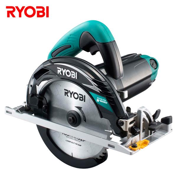 電子丸ノコ W-663ED 切断機 小型切断機 丸鋸 丸のこ 切断器 リョービ(RYOBI) 【送料無料】