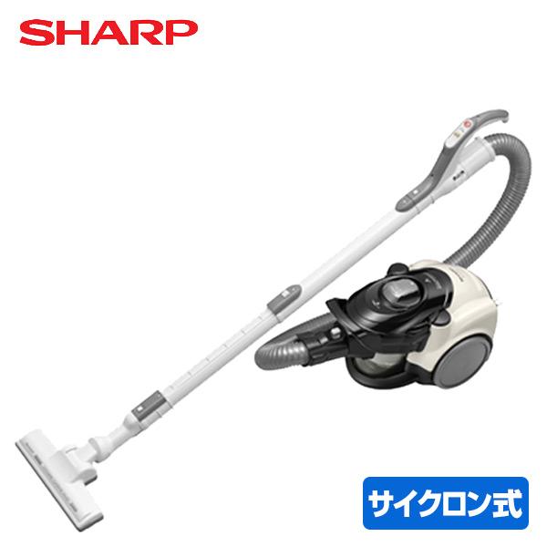 サイクロンクリーナー EC-CT12-C ベージュ 掃除機 置き型 キャニスター セルフクリーニング シャープ(SHARP) 【送料無料】
