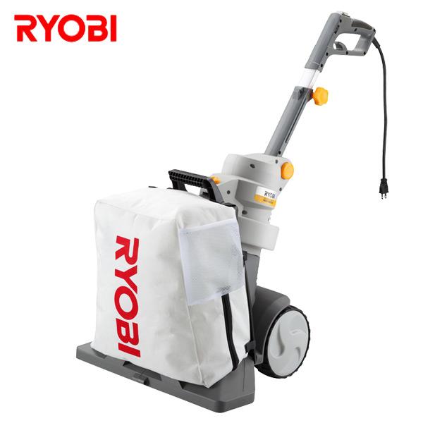 車輪がついて押すだけで手軽に屋外掃除 使用場所や姿勢に合わせてハンドルの位置 送料無料  ブロワバキューム 手押しタイプ(車輪付き) RESV-1800HP/683700A ブロワ ブロワーバキューム ブロアバキューム 清掃機器 オフィス住設用品 リョービ(RYOBI) 【送料無料】